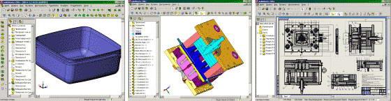 SolidWorks. Модель, сборка,  чертеж